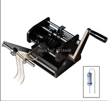Hand-operate F type LED Resistor Axial Lead Bend Cut Form Making Machine LED Former(China (Mainland))