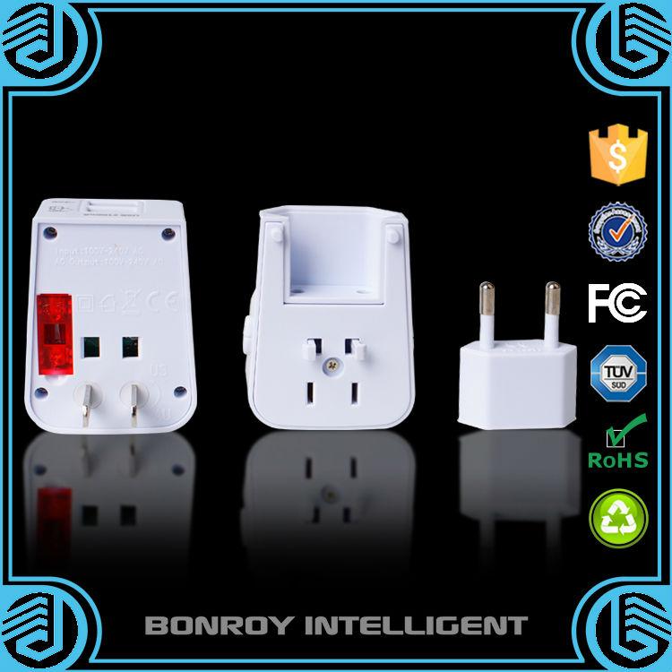 AU UK EU to US AC Power Plug Adapter Adaptor Converter Outlet Home Travel Wall(China (Mainland))