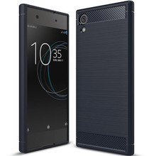 Buy Sony Xperia XA1 case Carbon Fiber Texture Brushed Silicone Cover Slim Hybrid Super armor case Sony XA1 phone case  (XX89 for $2.40 in AliExpress store