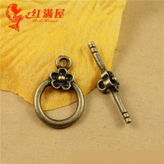Wholesale Hook Clasp For Bracelets Retro Accessories Toggle Clasps Parts Materials OtT Dedution DIY Jewelry Findings A1305(China (Mainland))