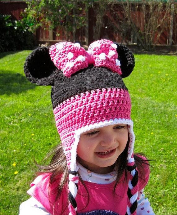 60pcs Wholesale Baby Girl Hats Sleepy Owl Hats Minnie Hat Crochet Children Hats Factory(China (Mainland))