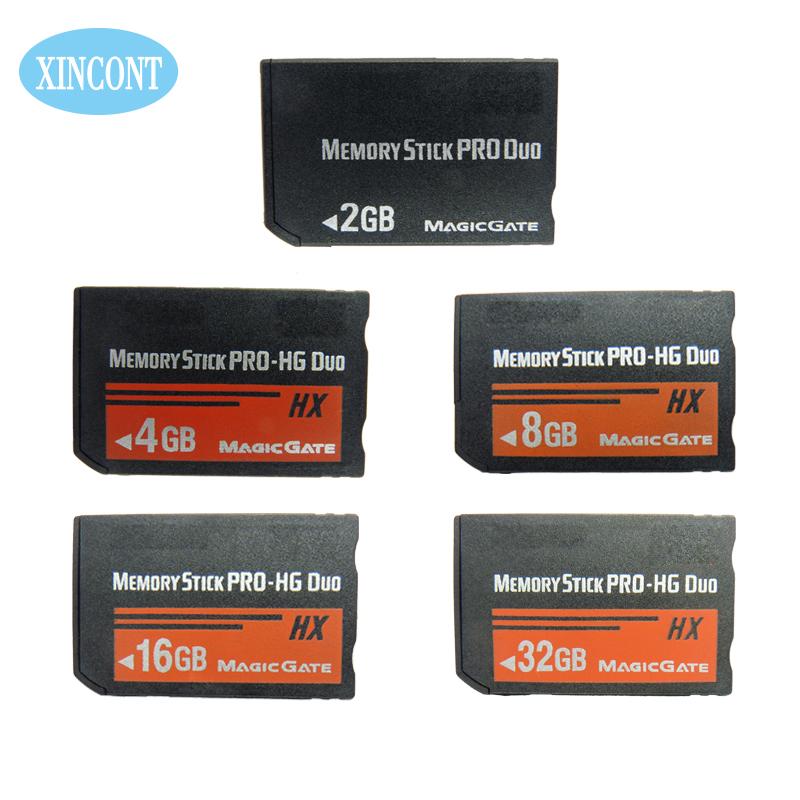 High speed Memory stick pro duo 2/4/8/16/32/64GB original memory card MS card good quality for sony psp camera mobile phone(China (Mainland))