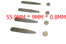 2 Pairs= 4pcs Metal Magnetic Collar Stays w/XL Chip Resistant Magnets(China (Mainland))