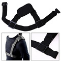 High Quality Universal Single Camera Shoulder Strap Mount Chest Harness Belt Travel For GoPro