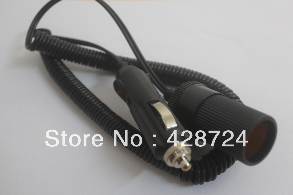 1 PCS/ NEW 12v IN-CAR CIGAR CIGARETTE LIGHTER POWER DC EXTENSION LEAD CABLE ADAPTOR(China (Mainland))