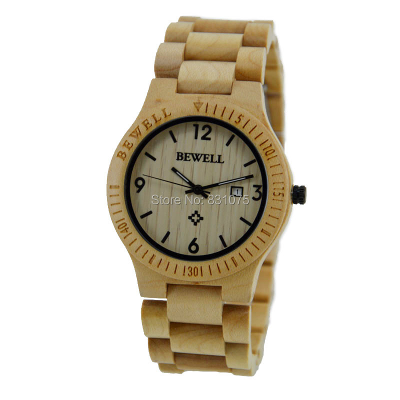 Japa import VJ32 Rare Slim Movement Equiped Wood Men Wristwatches Men Women Available Both Wood Mens