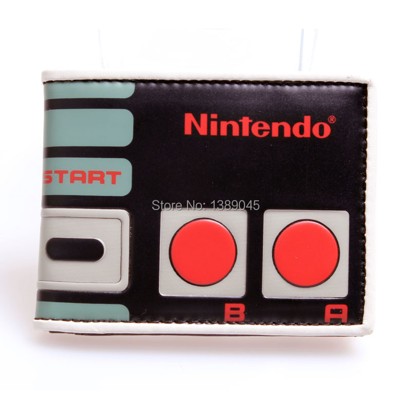 The Original Nintendo purse Nes Controller monedero Bi Fold young students short fashion wallet DFT - 1156(China (Mainland))