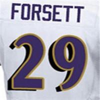 100% Stitched With Customized Men's #5 Joe #9 Justin #29 Justin #52 Ray #57 C.J. #89 Steve Elite Black Purple White Football Jer(China (Mainland))