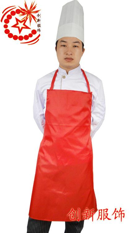 Big w83 waterproof aprons chef apron work wear apron kitchen supplies(China (Mainland))