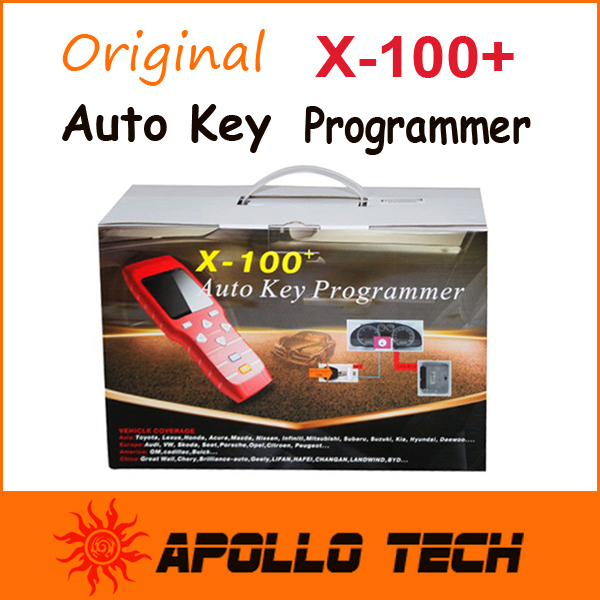 X100+ PLUS AUTO KEY PROGRAMMER New Remote Controller Car key Programming X-100+ V2.0 Free Update Via Official Website(China (Mainland))