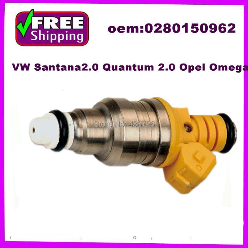 High quality Fuel Injector nozzle VW Santana2.0 Quantum 2.0 Opel Omega 0280150962(China (Mainland))