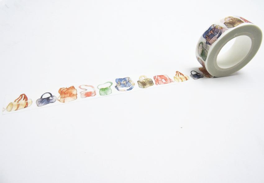 2016 New Printing Washi Tape Office Adhesive Scrapbooking Tools Kawaii Decorative Great Christmas Cute Craft Gift Cinta Bags(China (Mainland))