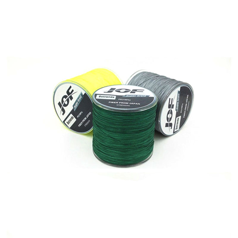 2016 new 500M PE 4 series color woven multifilament line anti bite carp fishing line(China (Mainland))