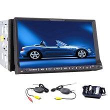 Беспроводная камера + 2 Din 7 » DVD GPS навигации Bluetooth автомобильного аудио видео mp3-cd-плеер PC стерео радио в-dash головного устройства
