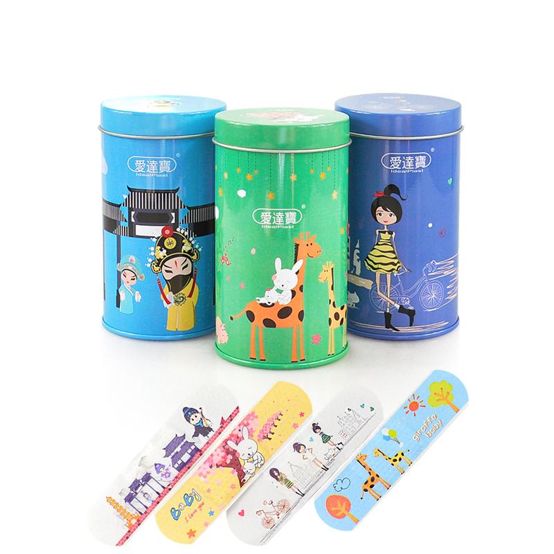 Free Shipping 150PCs Cartoon PE Waterproof Girls + Animals + Chinese Peking Opera Style Adhesive Bandages Band Aid First Aid(China (Mainland))