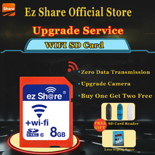 Buy Original Real Capacity ez-Share WIFI Share SD Card 8GB Class 10 SDHC Flash Memory SD Card 8 GB cartao de memoria Free for $24.88 in AliExpress store