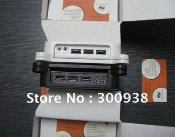 WIN7 Thin Client Computer PC Share with 800Mhz 32 Bit 3 USB Microphone Printer 128M RAM 128M Flash