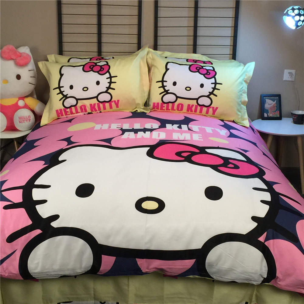 line Get Cheap Hello Kitty Twin Bed Aliexpress
