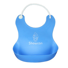 2015 Hot Sale 4 Colors  Baby Infants Kids Cute Silicone Baby Bibs Lunch Bibs Cute Waterproof Bibs Wholesale Shipping A15(China (Mainland))