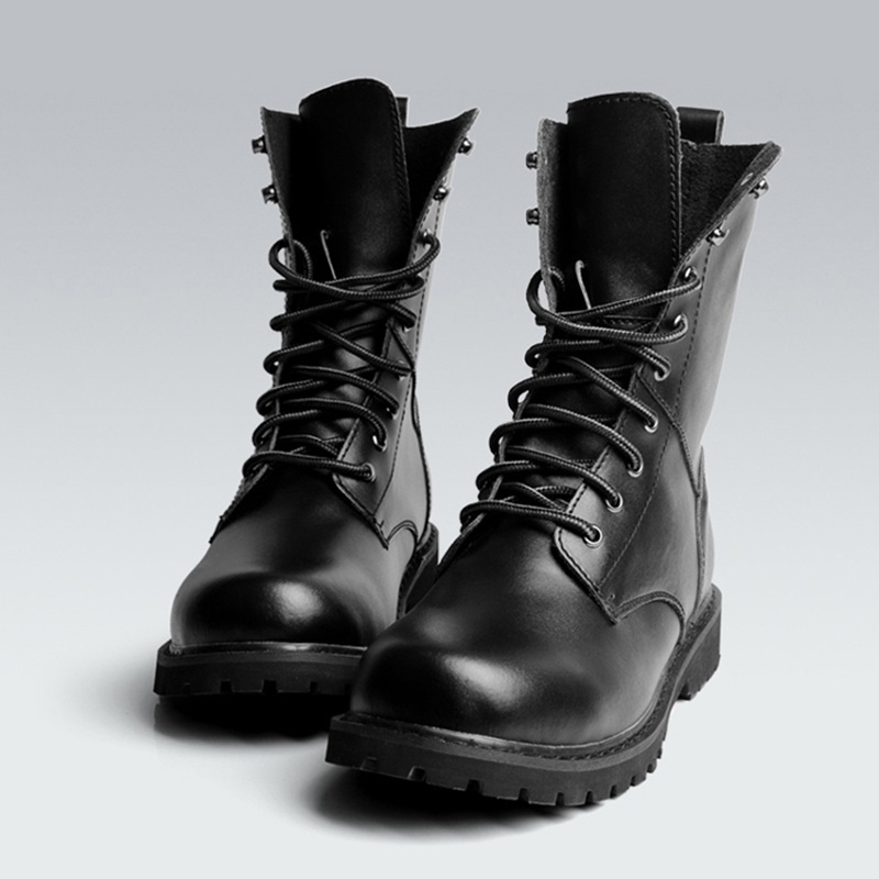 Gallery For gt Mens Black Fashion Boots