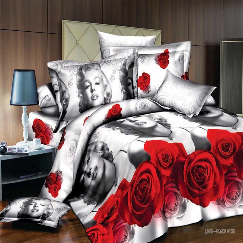 2015 new arrivel 3D bedding sets bed linen comfort bedclothes dolphin comforter set girls bedding set 3d duvet cover set ZQ01(China (Mainland))