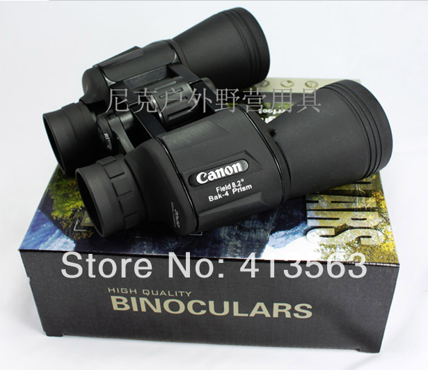 Hd wide-angle Central Zoom Portable LLL Night Vision Binoculars Telescope -Style No.-C 20X50