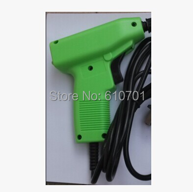 Фотография Green RJ-16 Input 220V Output 24-36V Electric Wire Wound Cable Winding Ok Gun for ict class fixture PCB testing