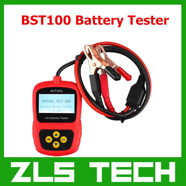 Original AUTOOL BST-100 BST100 Battery Tester with Portable Design BS T100 Auto Battery Analyzer Diagnostic Tool Best Quality(China (Mainland))