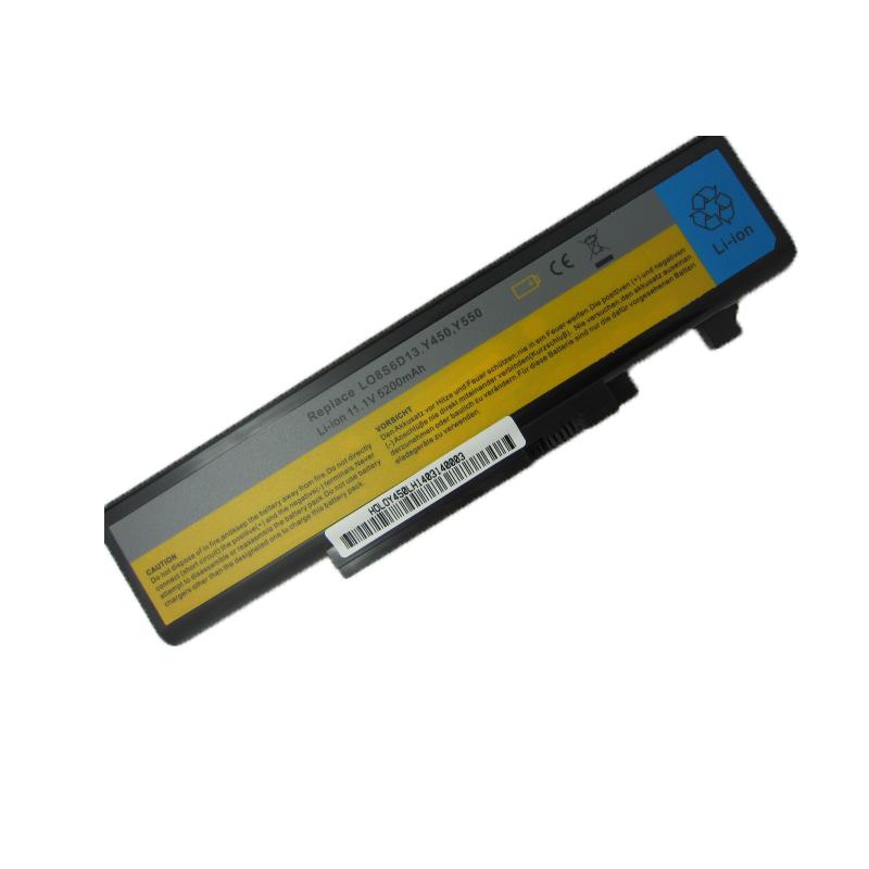 5200MAH new 6cells Laptop Battery For Lenovo IdeaPad Y450 Y450A Y450G Y550 Y550A Y550P 55Y2054 L08L6D13 L08O6D13 L08S6D13(China (Mainland))