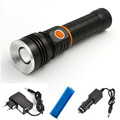 Fashion 2 in1 10W COB LED Stretchable Flashlight Torch Working Lamp Camping Light with Strong Magnet