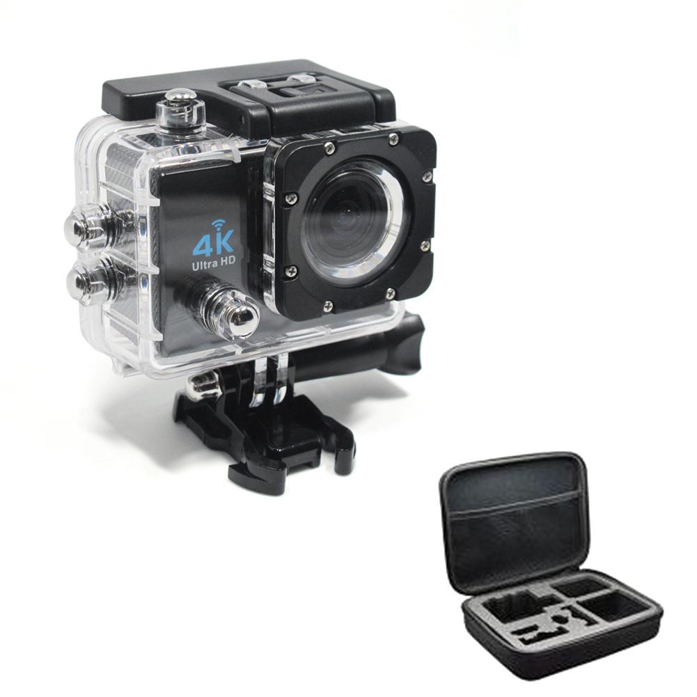 Фотография Digital Video Camera Action Waterproof Sport Camera 4K Wifi Camaras Deportivas Hd With Sport Cam 4k Medium Travel Kit Q3H+ZB