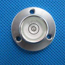 Размер 34 * 20 * 12 мм металлический корпус буллсай измерения прибор универсальный уровень циркуляр пузырь точность 0-уровень 8′ / 2 мм
