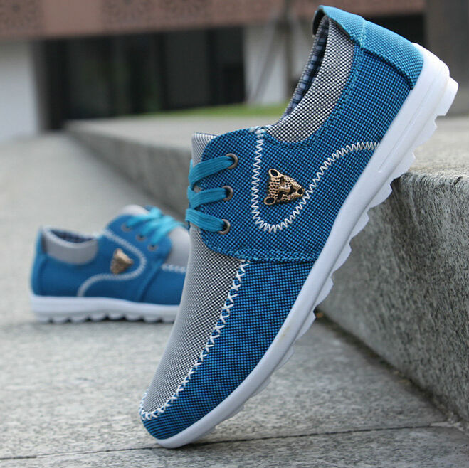 new brand canvas casual men shoes british loafers sneakers mens masculino running driving shoes men's flat shoes size 39-44(China (Mainland))