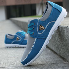 new brand canvas casual men shoes british loafers sneakers mens masculino running driving shoes men's flat shoes size 39-44