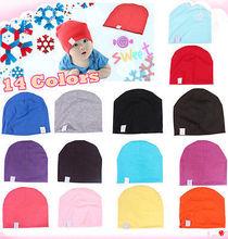 1pcs Unisex Toucas Cotton Beanie Baby Hat for New Born Cute Boy Girl Soft Toddler Infant