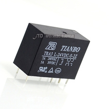 Buy New original TRA3L-24VDC-S-2Z TRA3 L-24VDC-S-2Z 5A 8pin two open two close power relays TIANBO (5pcs/lot) for $6.99 in AliExpress store