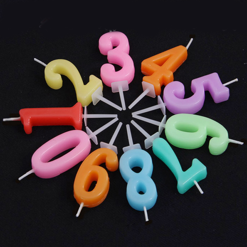 10pcs Digital Birthday Candles Party Supplies Home Decor Event & Party Supplies Wholesale Bulk Lots Accessories Supplies Product(China (Mainland))