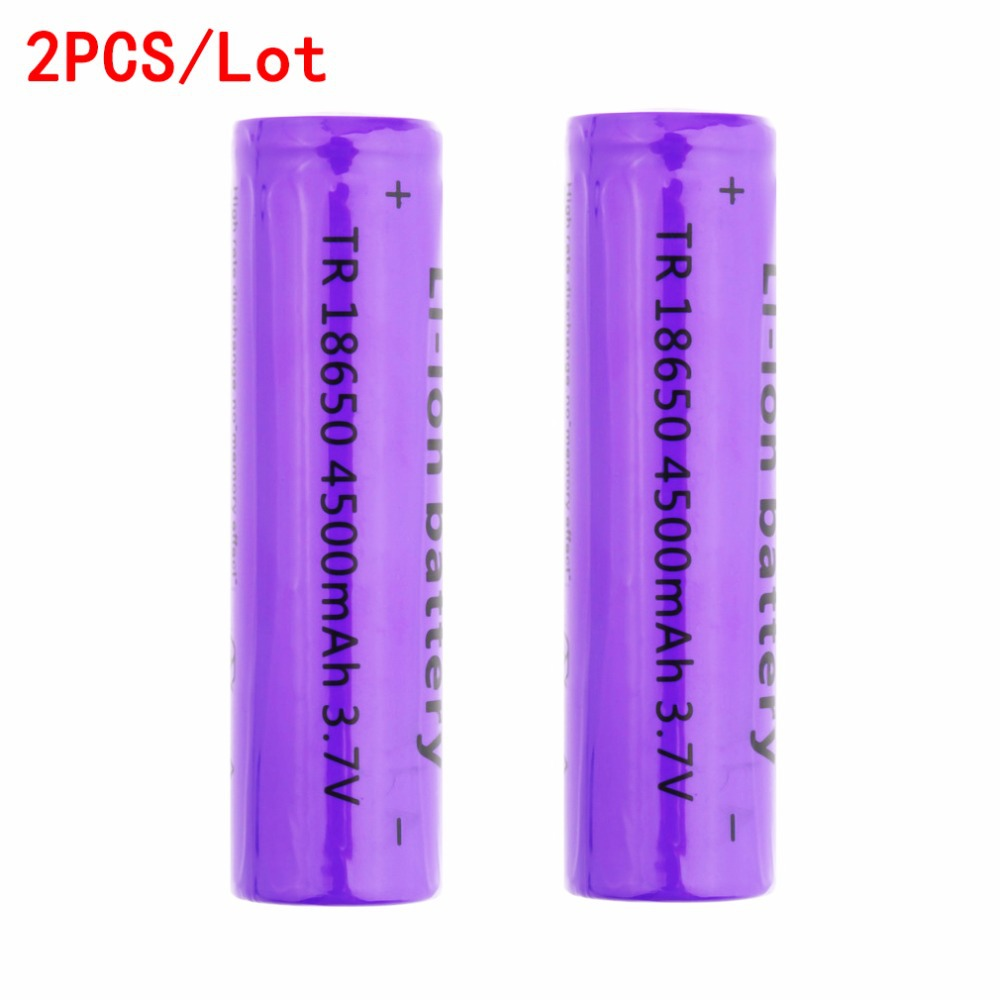 Гаджет  1pcs TR 18650 4500mAh 3.7V Rechargeble Battery freeshipping None Бытовая электроника
