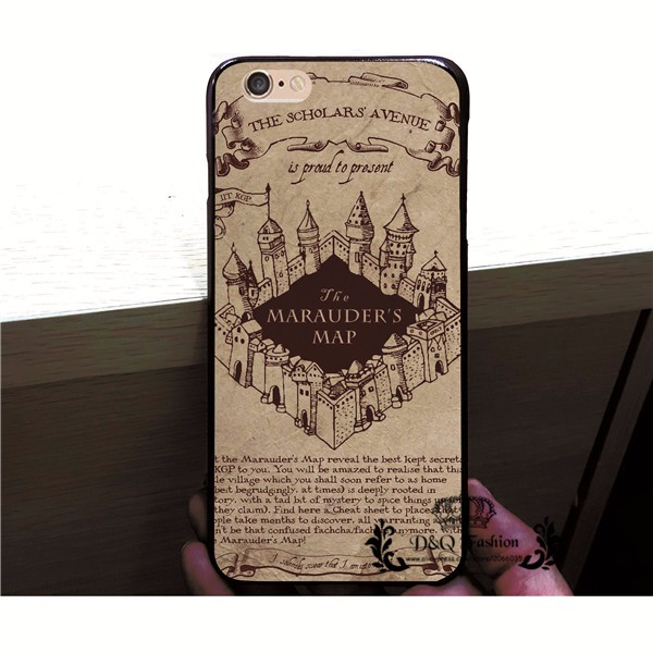 2016 Harry Potter Phone Case For iPhone 5 5S SE Hard Plastic Back Cover Cases For Apple iPhone5 5S SE