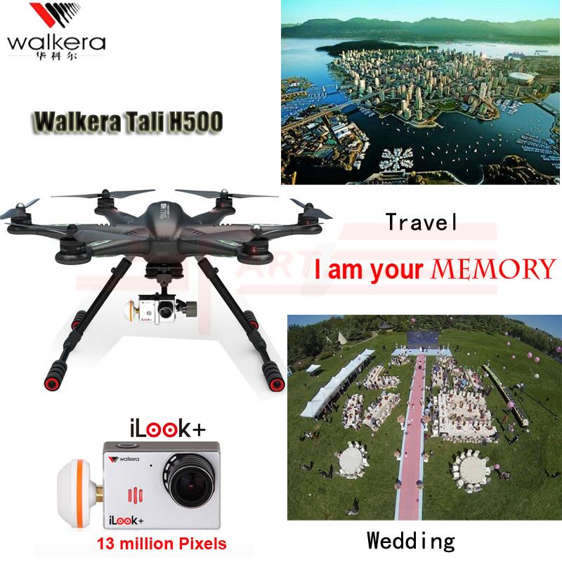 Walkera TALI H500 2.4G 12CH FPV GPS RTF Hexacopter Drone with Ilook Plus Camera DEVO F12E G-3D Gimbal Imax B6 Charger Drop Ship(Hong Kong)