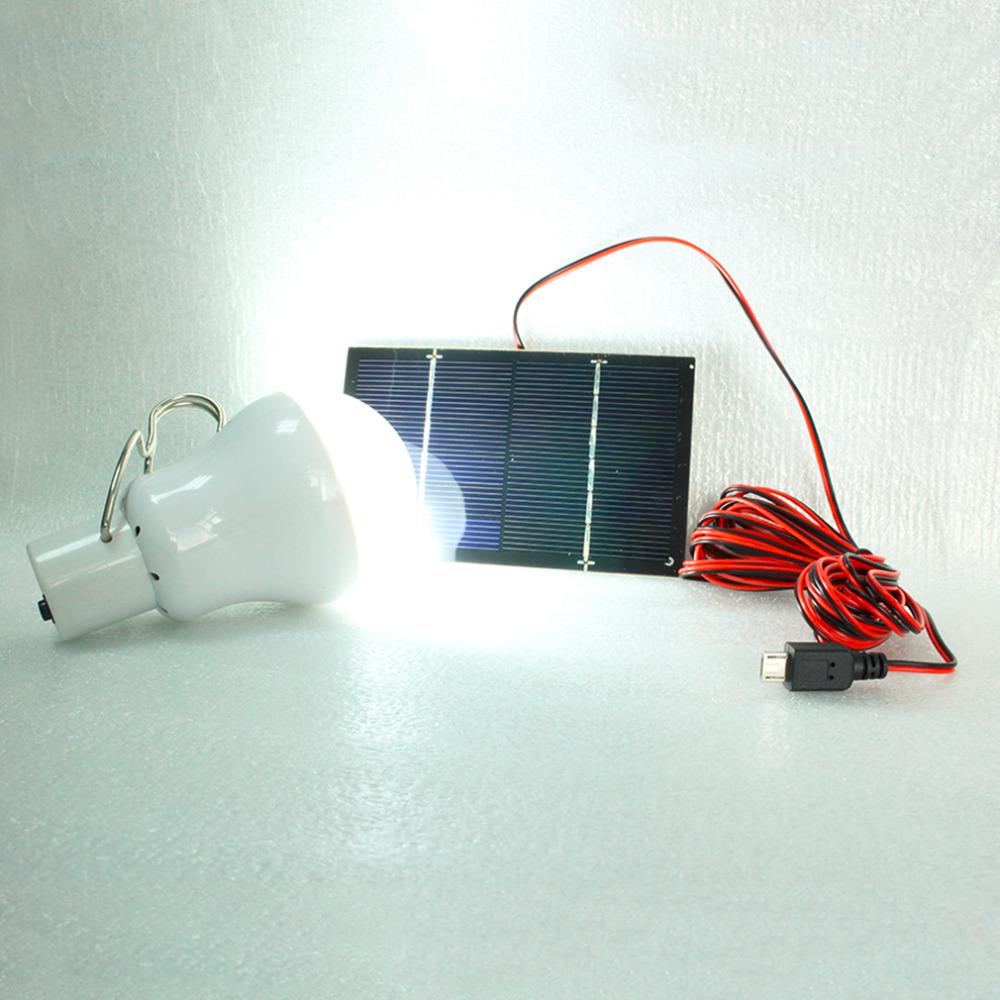 Solar Outdoor Lights Reviews : New 150 Lumens OutdoorIndoor Solar Battery led Lighting System Light