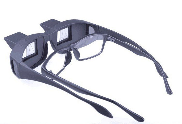 Wholesale Fedex DHL Free Shipping Creative High Definition Horizontal Glasses Lazy Glasses