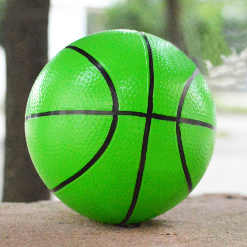 1Pc 20cm Outdoor Kdis Toys Kindergarten Children Basketball Inflatable Small Ball Hand Patted The Ball VBD98 P(China (Mainland))