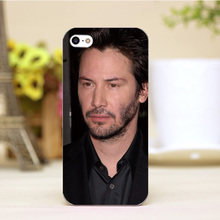 pz0006-1-2-4 Keanu Reeves Design cellphone cases For iphone 4 5 5c 5s 6 6plus Shell Hard transparent Skin Shell Case Cover