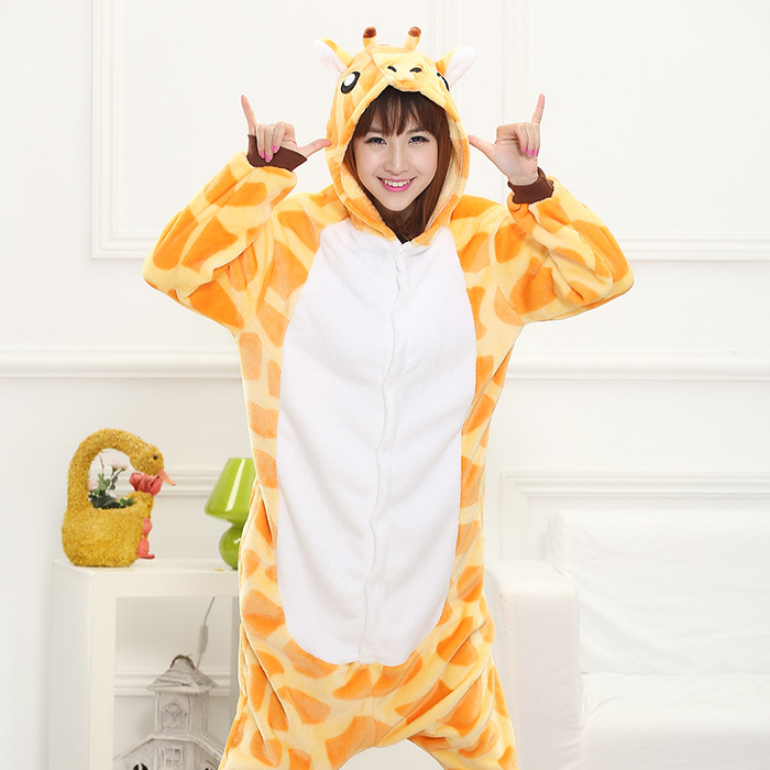 Costumes de girafe adulte