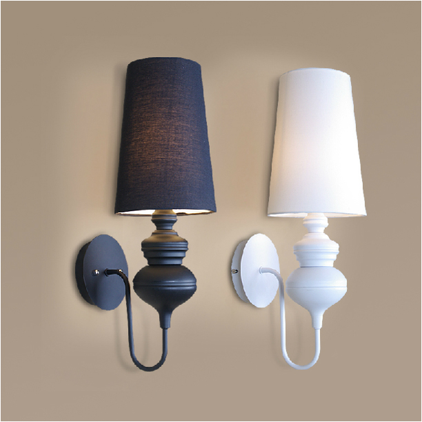 Wall Lamps Modern : Modern brief bedroom study wall lights simple bedside lamp Creative Living room wall lamps ...