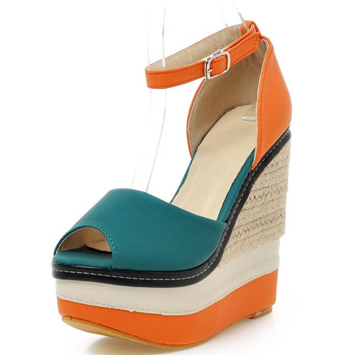 ENMAYER Women Sandals High-heeled Sandals Sexy High Heels Open Toe Ankle Straps Summer Shoes round Toe Less Platform Sandals hot<br><br>Aliexpress