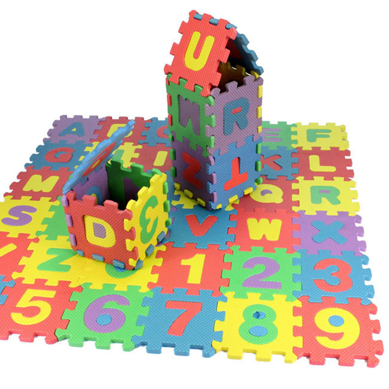 2015 new children baby puzzle kids toys early educational toys digital number letters 3d puzzle toys for children Free Shipping(China (Mainland))