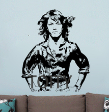 Buy Andy Gibbs Wall Vinyl Sticker Poster English Singer Decal Bee Gees Brother Art Decor Bar Club Dorm Home BedRoom Inspired Mural for $10.39 in AliExpress store