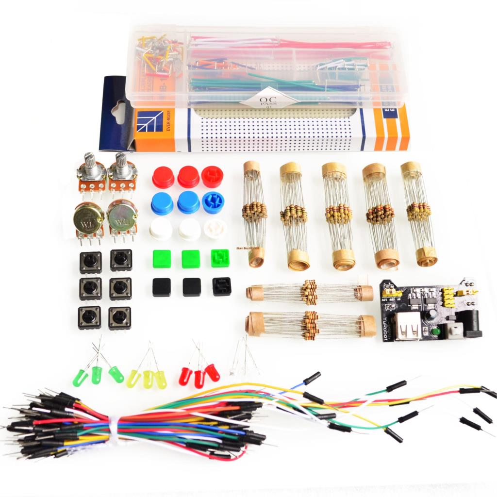 Generic parts package for arduino kit v power